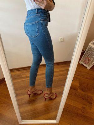Topshop Açık Mavi Skinny Jean