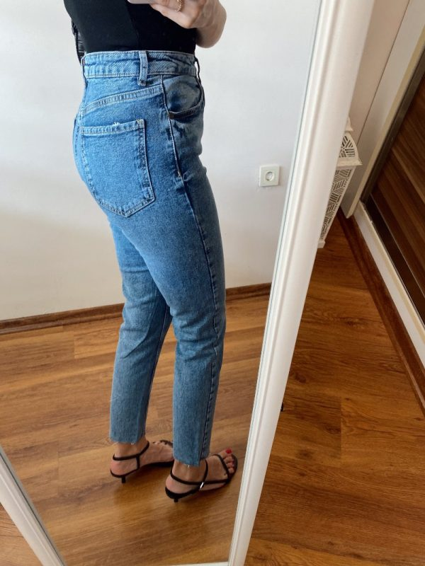 Yıkamalı Slim Fit Jean