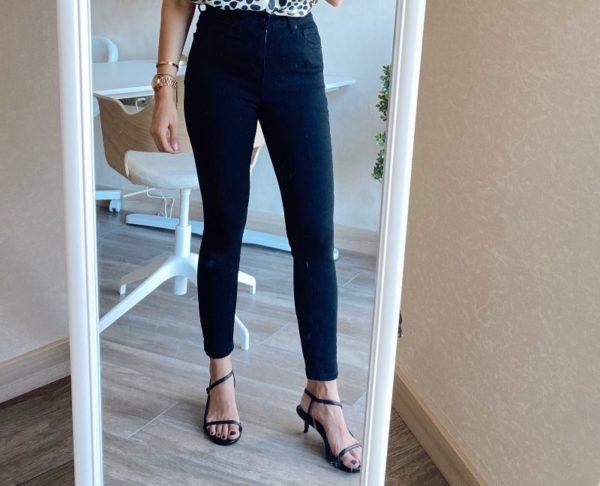 Topshop Siyah Skinny Jean