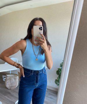 Bebe Mavi Bodysuit