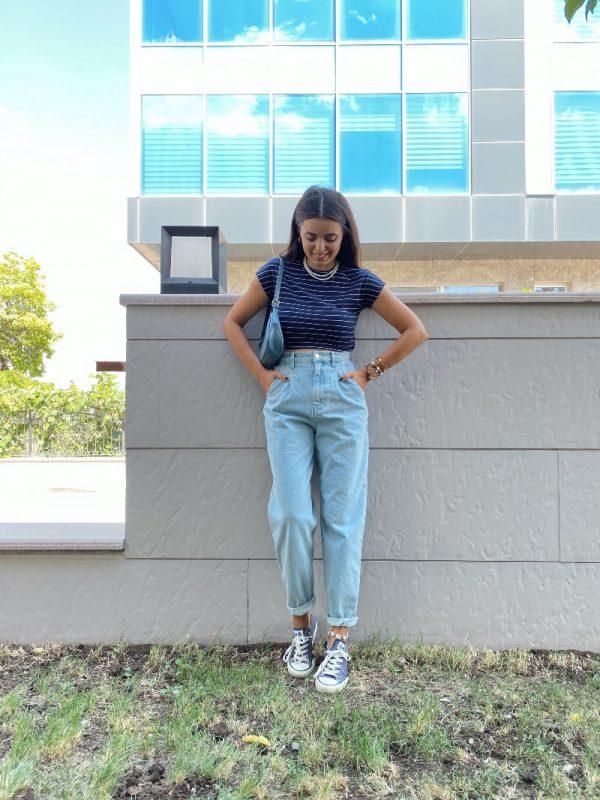 Buz Mavi Balon Jean