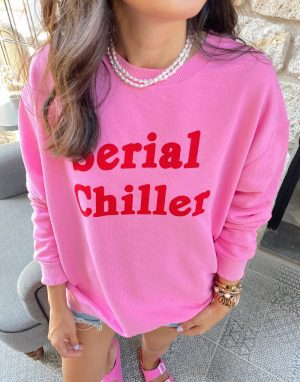 Pembe Mynelly Sweat