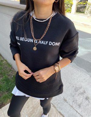 Siyah Lena Sweat