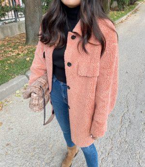 Somon Peluş Ceket