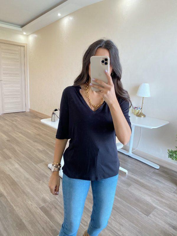 Lacivert Polo Yaka Tişört
