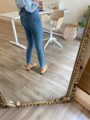 Jimmy Mavi Yıkamalı Skinny Jean